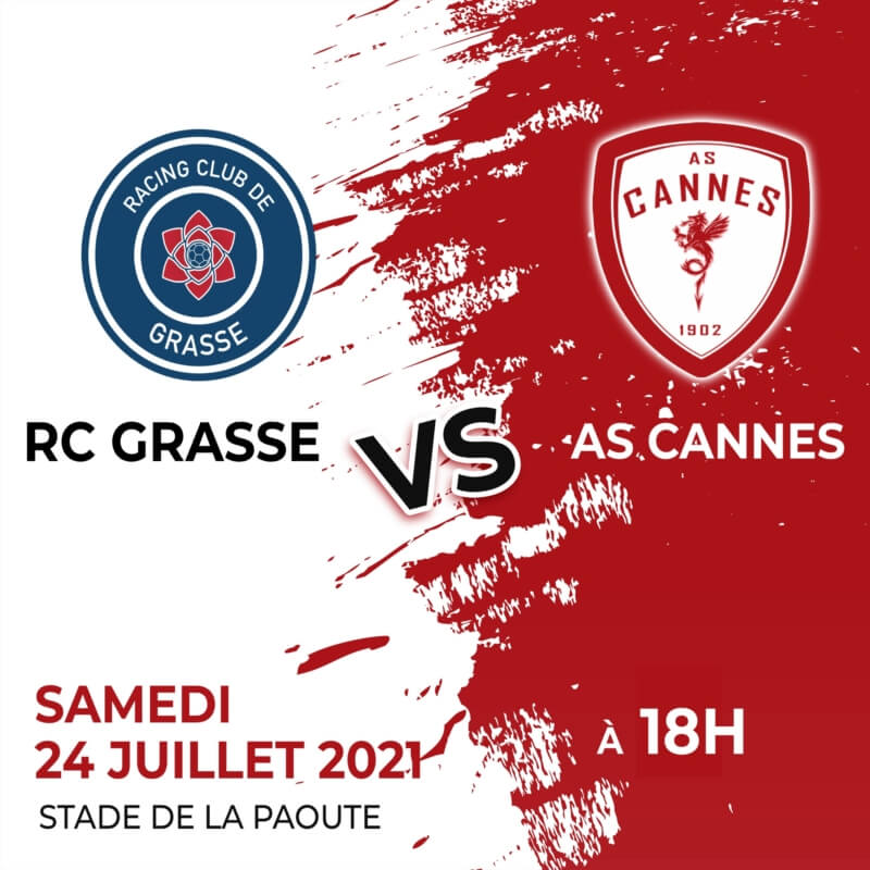 Amical : RC Grasse (N2) - AS Cannes