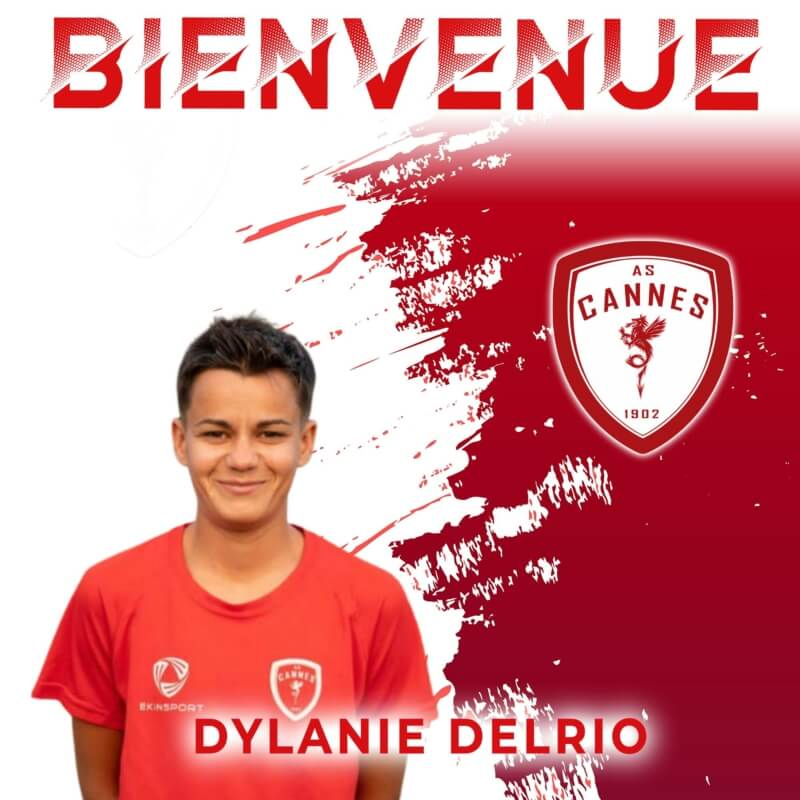 R1F : L'AS Cannes accueille Dylanie Delrio !